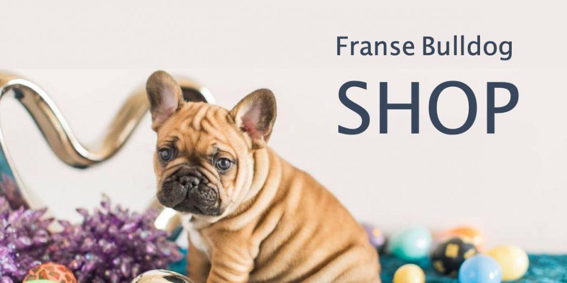 Franse Bulldog Shop. Webwinkel met Franse Bulldog speeltjes